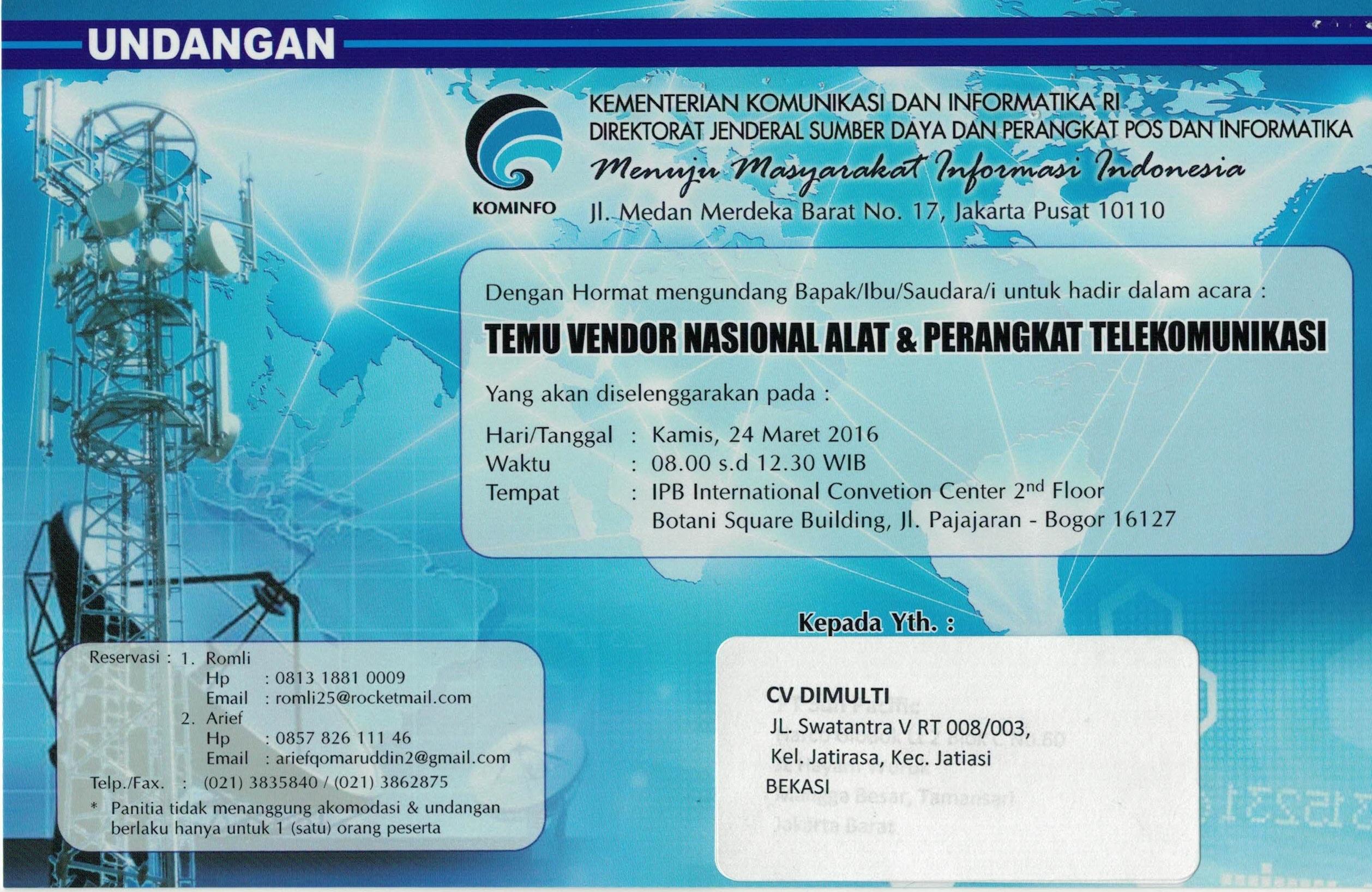 SDPPI invitation letter 1