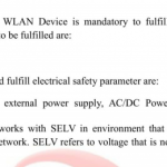 Electrical Safety Testing for WLAN