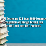 Directorate General SDPPI Decree number 124 Year 2020; Foreign testing laboratories recognition