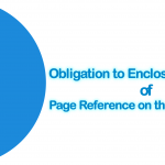 Obligation to Enclose Summary of Page Reference on the Test Reports